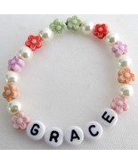Personalized Children Stretchable Bracelet Star... - $10.78