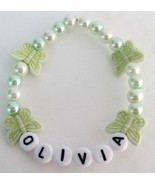 Infant Toddler Name Bracelet Children Jewelry i... - $10.78