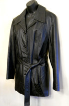 New York by Winlit BLACK LEATHER Jacket Size Me... - $39.55