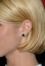 White Platinum Fn Fashion Ladies 925 Silver Brittany Snow Stud Earrings Jewelry - $54.21