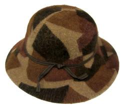 Albertus Swanepoel for Target brown hat wide brim rabbit hair wool blend - ₨1,047.37 INR