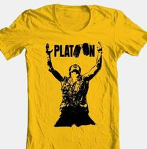 Platoon movie t shirt vintage 1980 s classic movie 100  cotton graphic tee thumb200
