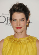 14k Platinum Finish Celebrity Cobie Smulders Stud Earrings With Orange S... - $53.12