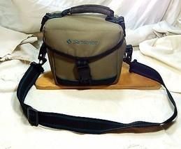 Samsonite Camera Bag Adjustable Shoulder Strap Belt Loops Tan Carry Handle - $23.36