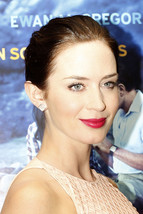Celebrity Fashion Emily Blunt Stud Earrings In Sterling Silver 14k White... - $72.99