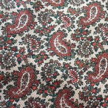 Vintage Cranston Print Works Cotton Challis Pai... - $30.00
