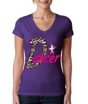 Dancer Women's V Tee Shirt Sport Line Shirt - $17.00