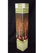 """Everlasting Glow 24"""" LED LIGHTED TREE Red Glitter Timer Feature Xmas NEW - $29.98"""