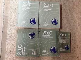 2000 FORD ECONOLINE E150 250 350 E-Series Van Service Manual Set OEM DIE... - $197.99