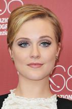 Women's Yellow Gold Fn Sterling Silver Evan Rachel Wood Charm Stud Earrings - $53.39