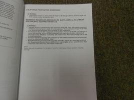 2011 MITSUBISHI Lancer Evolution Electrical Supplement Service Repair Manual NEW image 4