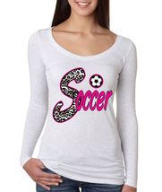 Soccer Women's Long Sleeve Shirt Sport Line Shirt - $17.00