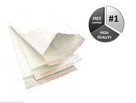 1000 #1 White Kraft Bubble Mailers 7.25x12 USA Padded Envelope Shipping ... - $237.85