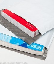 3000 9x12 2 Mil Poly Mailers Shipping Mailing White Envelopes Self Seal ... - $130.04