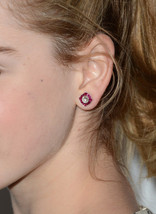Vintage Fashion Jewelry For Women's Celebrity Kiernan Shipka Stud Earrings - $72.99