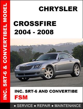 CHRYSLER CROSSFIRE 2004 2005 2006 2007 2008 FACTORY OEM SERVICE REPAIR MANUAL