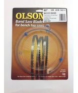 "Olson Band Saw Blade 62"" x 1/8"", 14TPI for Craftsman 21419, Skil 3104 & Grizzly  - $12.49"