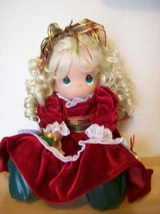 2006 Precious Moments Winter On Ice Stocking Doll  - $85.00