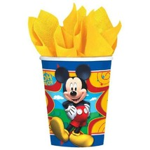 Mickey Mouse Clubhouse 8 9 oz Hot Cold Paper Cups Birthday Party - $4.13