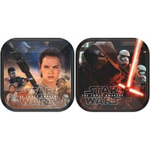 "Star Wars ""The Force Awakens"" VII 8 7"" Dessert Cake Plates 2 Designs - $4.23"
