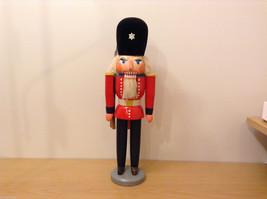 Vintage Wooden European Soldier Nutcracker Figurine, made in GDR
