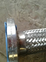 57 inch STAINLESS STEEL braided hose  with couplings SA182  F304/304L image 2