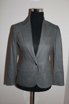NWT Ralph Lauren Blue Label Grey Wool Blazer size 4 - $149.99