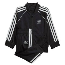 TRAININGSANZUG BABY ADIDAS SUPERSTAR SUIT DV2820  BLACK - $51.52