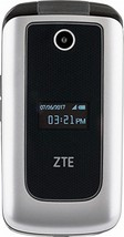 ZTE Cymbal 4G Prepaid Cell Phone (Z233VPP) Silver - 4GB, Verizon - Refurbished - $40.23
