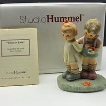 Goebel MJ Hummel club figurine germany box coa BH20 Token of Love presen... - $63.36