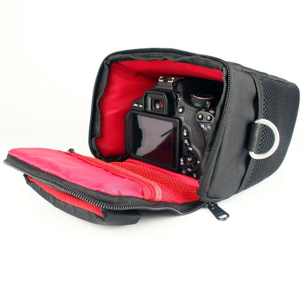 DSLR Camera Bag Case Lens Pouch Canon 1300D 6D 750D 200D 60D 1100D 77D 70D 600D