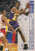1994-1995 Upper Deck Collector's Choice Card Eddie Jones #384 Blueprint Lakers - $3.95