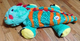 "2013 Stuffies Plush Dinosaur with 6 Pockets to Store Your Treasures 28""x... - $17.75"