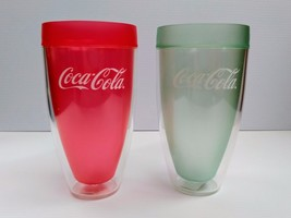 Coca-Cola 20oz Tumbler Cups (Set of 2) - BRAND NEW - $10.40