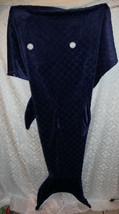 Poisson Whale Requin Couette à Manches Couverture Bleu Queue Wearable Co... - $24.68