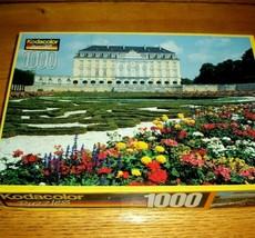 Vintage Jigsaw Puzzle 1000 Pcs Bruhl Germany Augustusburg Palace Photo C... - $15.83