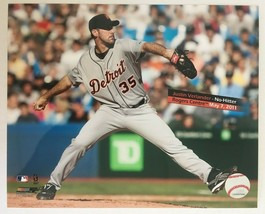 Justin Verlander May 7 2011 NO HITTER Glossy Photo 8 X 10 Detoit Tigers DM1 - $5.99