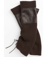 UGG Gloves Armwarmers Greenpoint Fingerless Chocolate S/M - $173.24