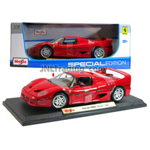 Maisto Special Edition 1:18 Scale Die Cast Red Roadster Close Top FERRAR... - $54.99