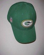 Green Bay Packers Team Logo NFL NFC Adult Unisex Green Yellow Cap One Size New - $24.74