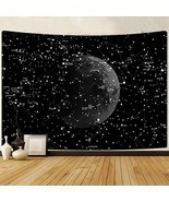 PANDAYAQ Moon Constellations Tapestry Wall Hanging Space Astrology Tapes... - $20.61 CAD