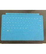 Microsoft Surface Touch Cover Keyboard | Cyan Blue | Lightly Used, No De... - $18.00