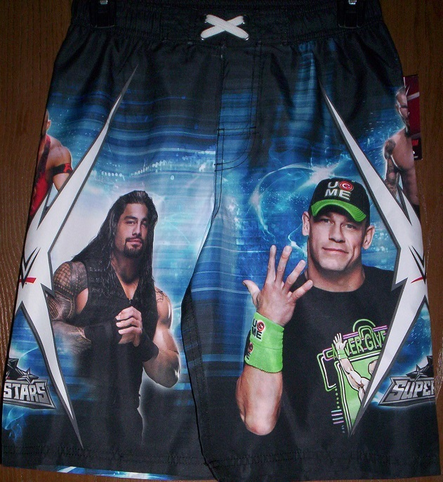 55f0fa2663319 Wwe John Cena Roman Reigns Swimtrunks Boy's and 15 similar items