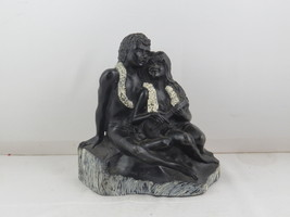 Frank Shirman Coral Scuplture - Mele O Hawaii Loving Couple - Made with ... - $85.00