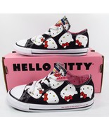 Converse x Hello Kitty Chuck Taylor All Star Ox BLACK 762946C Infant / T... - $32.00