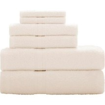 Beach/Bath Basic 6-Piece Towel Set, VANILLA DREAM - $29.99