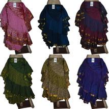 Full Circle 25 Yard Gypsy Long Belly Dance Premium Skirts - 30 Color/Prints - $49.99