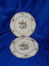 2 Vintage Royal Doulton Kingswood Dinner Plate 18169 Plates - $49.43