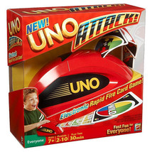 Original Uno Cards Attack Vintage Game With Spin  Electronic Game- 9 day... - $21.00