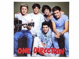 Official Licensed One Direction Guitar Canvas Picture On Wood Frame 40X40X2CM - $6.00
